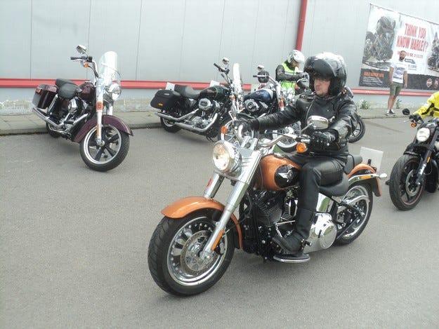 Цялата моделна гама на Harley-Davidson за 2015 г. е в София