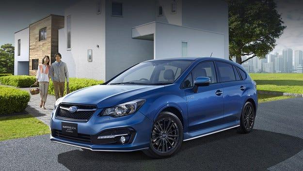 Хечбекът Subaru Impreza Sport Hybrid идва през лятото