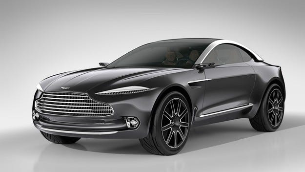 Aston Martin готви SUV върху нова модулна платформа
