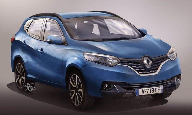 Новото поколение Renault Megane ще прилича на Espace