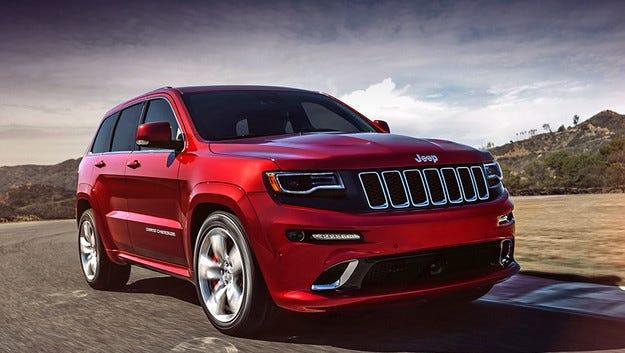 """""""Горещият"""" Jeep Grand Cherokee с повече от 700 к.с."""