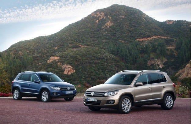 Volkswagen усъвършенства двигателната гама на Tiguan