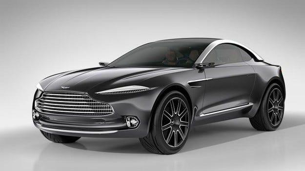 Aston Martin ще разработи хибриден модел