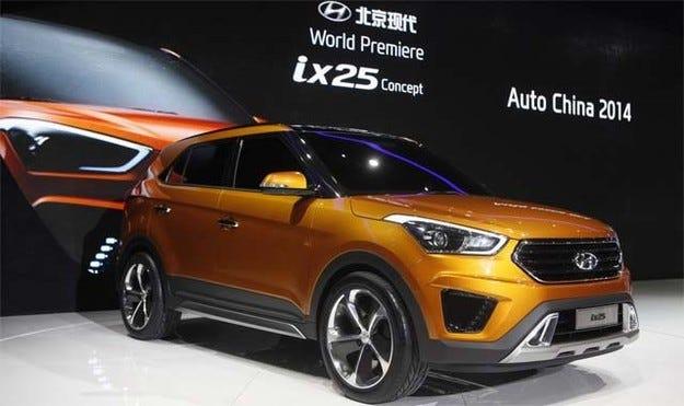 Компанията Hyundai измисли име на новия си кросоувър