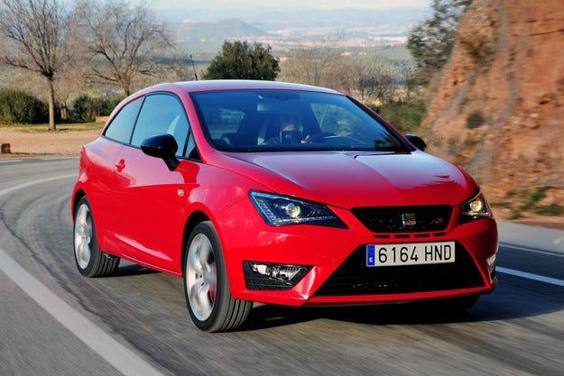 Seat Ibiza Cupra ще получи нов турбо двигател