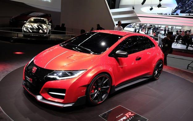 """Honda Civic Type R може да получи и """"гореща"""" версия"""