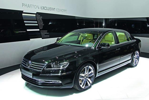 Спряха продажбите на Volkswagen Phaeton на Острова