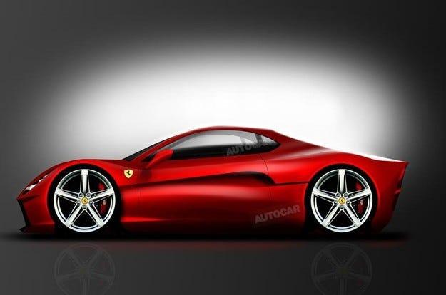 Италианската компания Ferrari ще възроди модела Dino