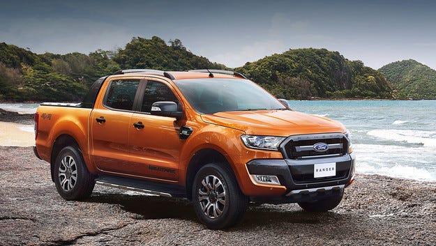 Обновеният пикап Ford Ranger се обзаведе с топ версия