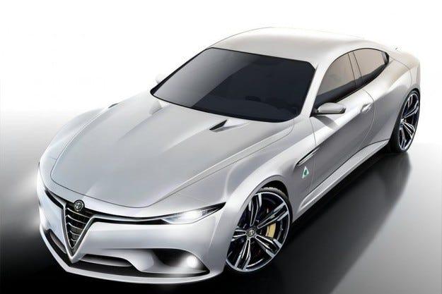 Седанът Alfa Romeo Giulia ще получи двигател от Ferrari