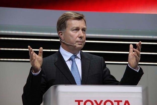 Дидие Льороа пое поста президент на Toyota No.1