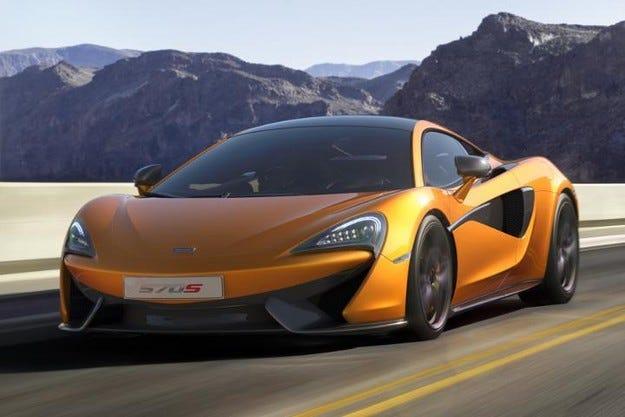 От модела 570S компанията McLaren ще направи фастбек