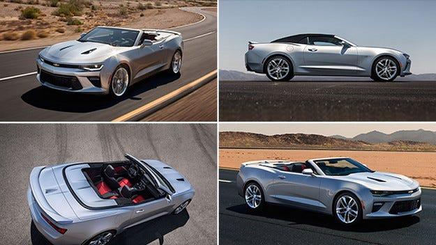 Разкриха кабриолета Chevrolet Camaro преди премиерата