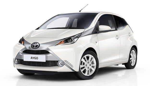 Toyota AYGO x-pure: Специална селекция в бяло