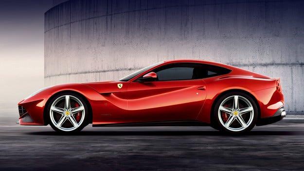Разкриха дизайна на топ версията Ferrari F12 Berlinetta