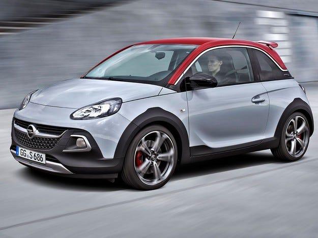 Малкият спортист Opel ADAM ROCKS S от 40 210 лв.