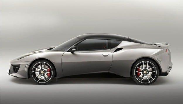 От купето Lotus Evora 400 ще направят роудстър