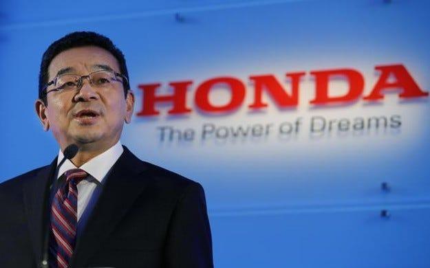Новият шеф на Honda иска вълнуващи автомобили