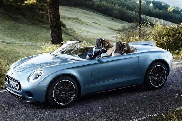 Серийният роудстър Mini Superleggera Vision идва през 2019