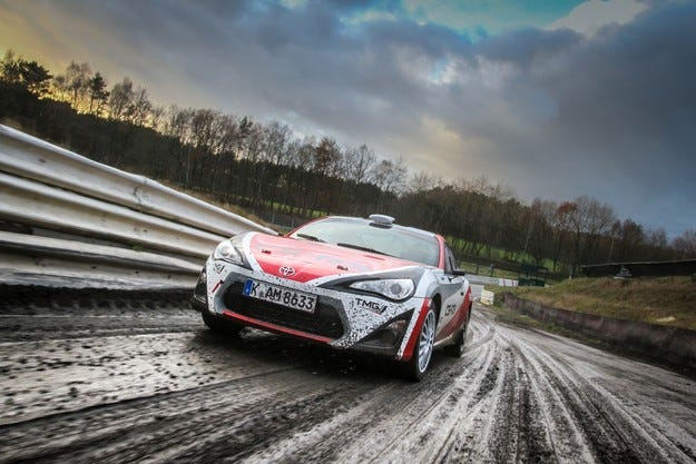 Toyota тества GT86 във Финландия