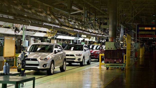 Mitsubishi спира производството си в САЩ