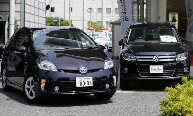 Volkswagen Group изпревари Toyota по глобални продажби
