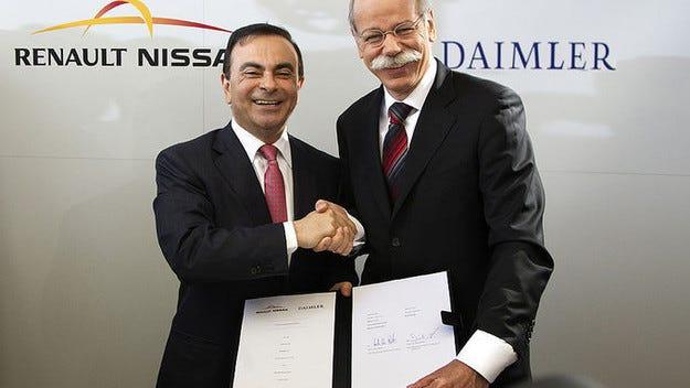 Daimler и Renault/Nissan правят общ завод в Мексико