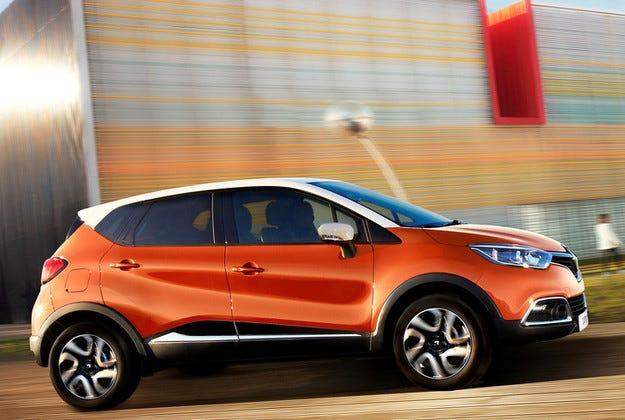 Renault Captur е в десетката на европейските бестселъри