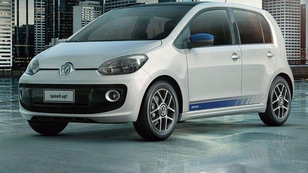 VW Up със 105 турбо к.с. вече стъпи в Бразилия
