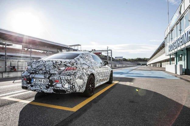 Mercedes показа тийзър изображение на модела C63 Coupe