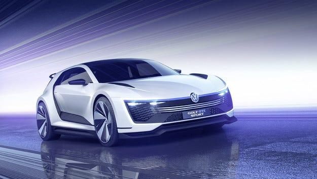 Хечбекът Volkswagen Golf MK8 идва до две години