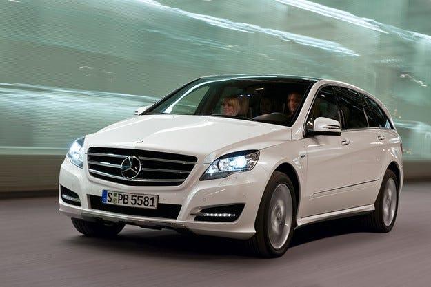 AM General ще произвежда Mercedes R-класа за Китай