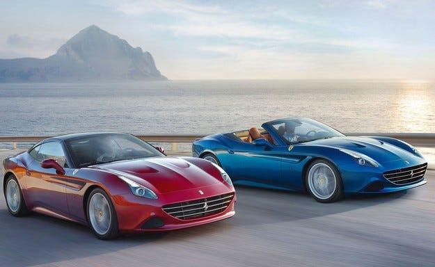 Ferrari California T вече с гуми Бриджстоун
