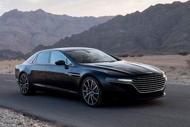 До 7 модела в гамата на британския Aston Martin