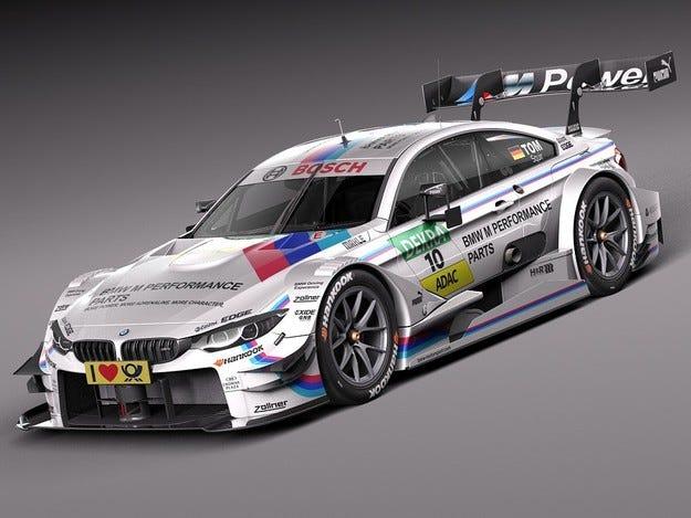 В Русия тимът на BMW за DTM остана без храната си