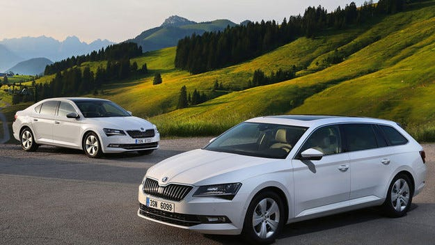 Дебютира Skoda Superb Greenline във Франкфурт