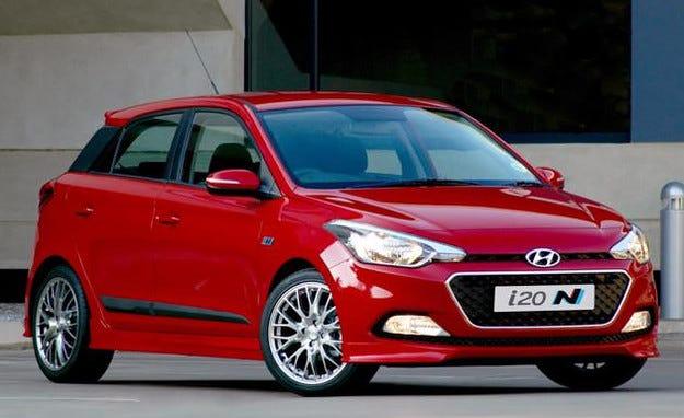 Hyundai представи спортна версия на хечбека i20