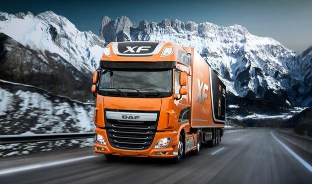 Марката DAF избра гумите Goodyear ULTRA GRIP MAX