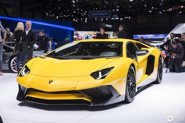 Lamborghini разработва супер автомобил със 770 к.с.