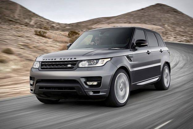 Новият Range Rover Sport 2014 e обут с гуми Goodyear