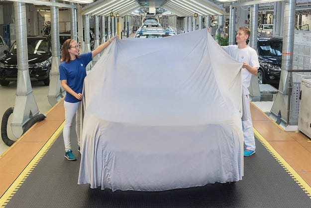 Volkswagen започна производството на новия Tiguan