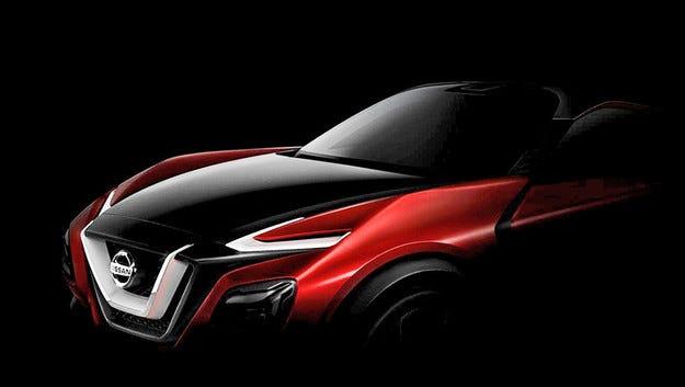 Nissan пусна първо изображение на нов кросоувър