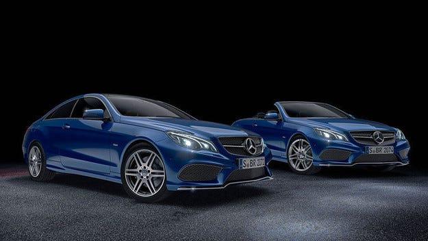 Mercedes E-класата получава специално купе и кабриолет