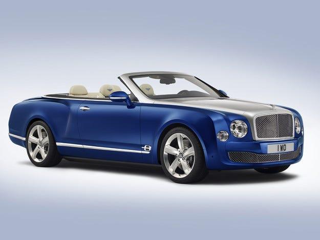Bentley ще пусне нов кабриолет