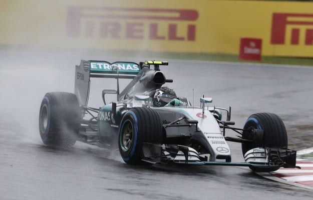 Гран при на Япония: Розберг ще стартира пред Хамилтън