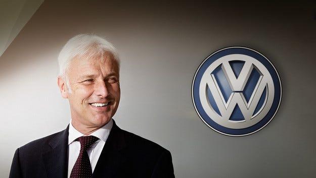 Матиас Мюлер ще управлява VW Group в условия на криза
