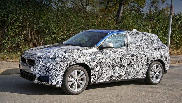 BMW пусна кросоувъра Х2 на пътни изпитания