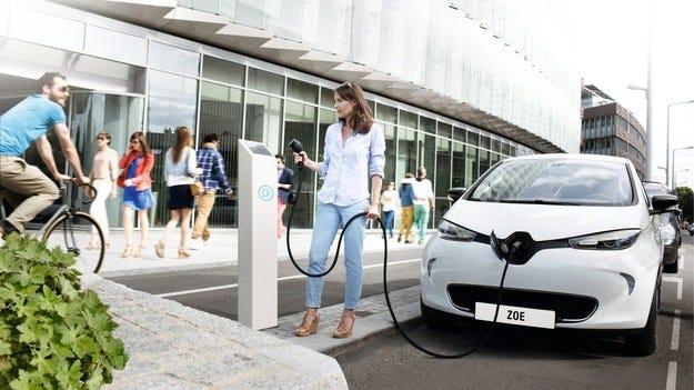 Schneider Electric представя серия зарядни станции