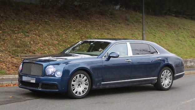 Bentley изпрати новия Mulsanne на пътни изпитания