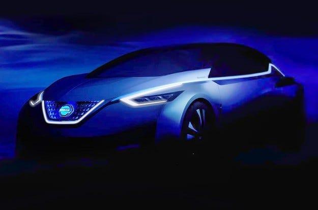 Nissan ще заведе в Токио предвестника на новия Leaf